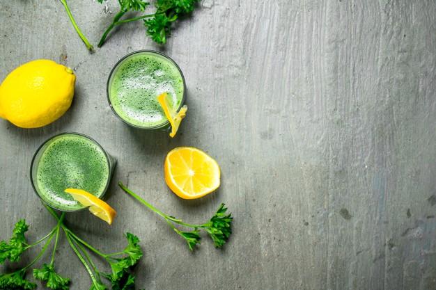 parsley detox juice