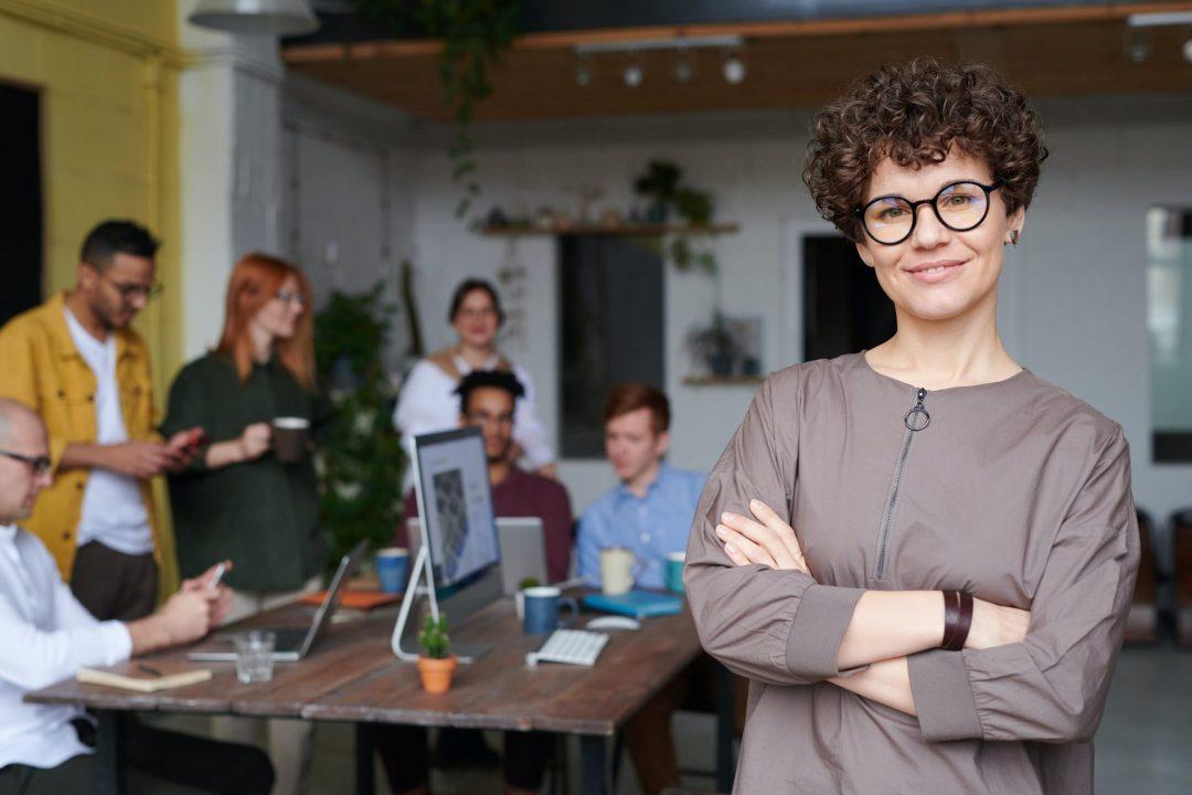 woman proud of her negotiating skills