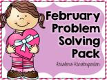 Kristen's February Problem Solving Pack