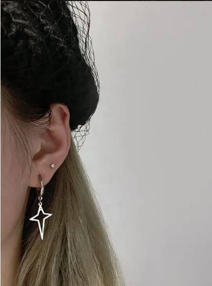 boucle d'oreilles kpop Star 3