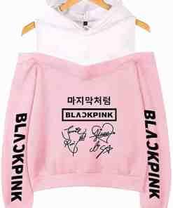 Pull Blackpink Classique™ Rose et Noir