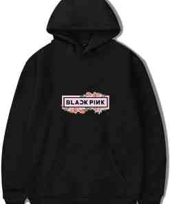 Sweat Blackpink Fleuri™ Noir