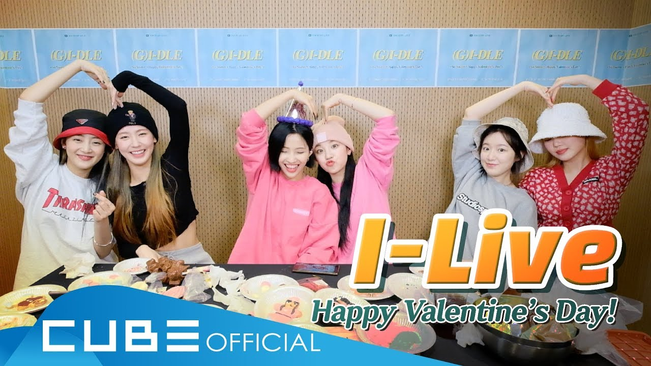 G Idle Official So Sweet Happy Valentine S Day Wildmelody