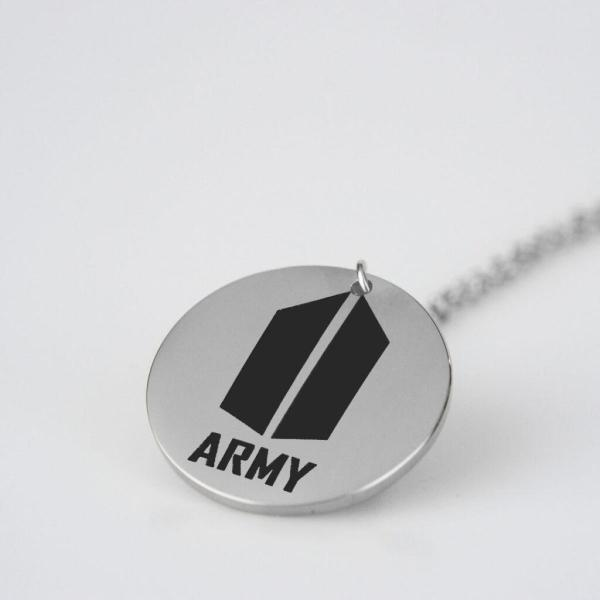 BTS Army Logo Charm Necklace