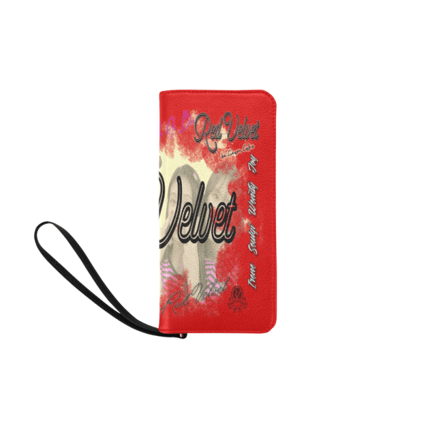 Red Velvet Women's Clutch Purse