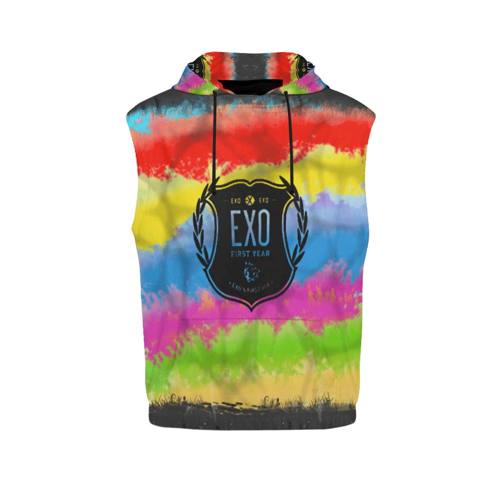 EXO Logo Sleeveless Hoodie