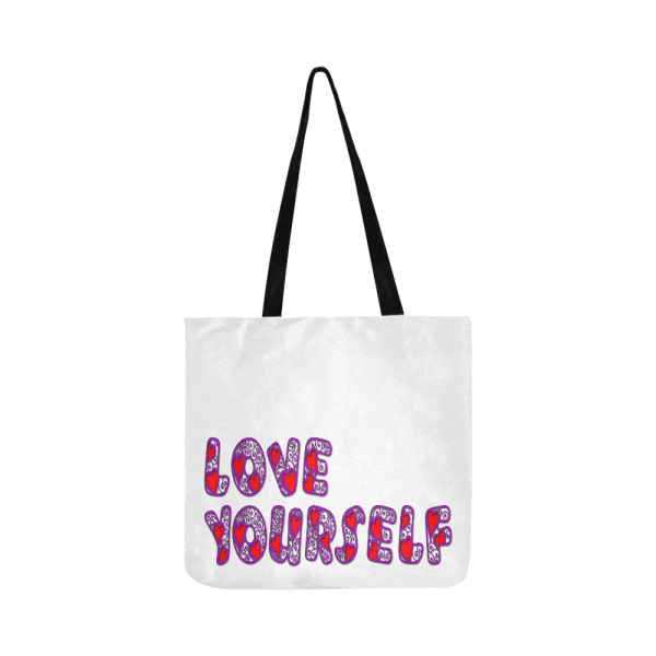 BTS Love Yourself Tote Bag