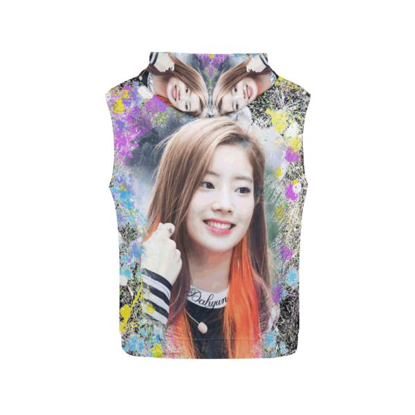 Twice Dahyun Women's Sleeveless Hoodie