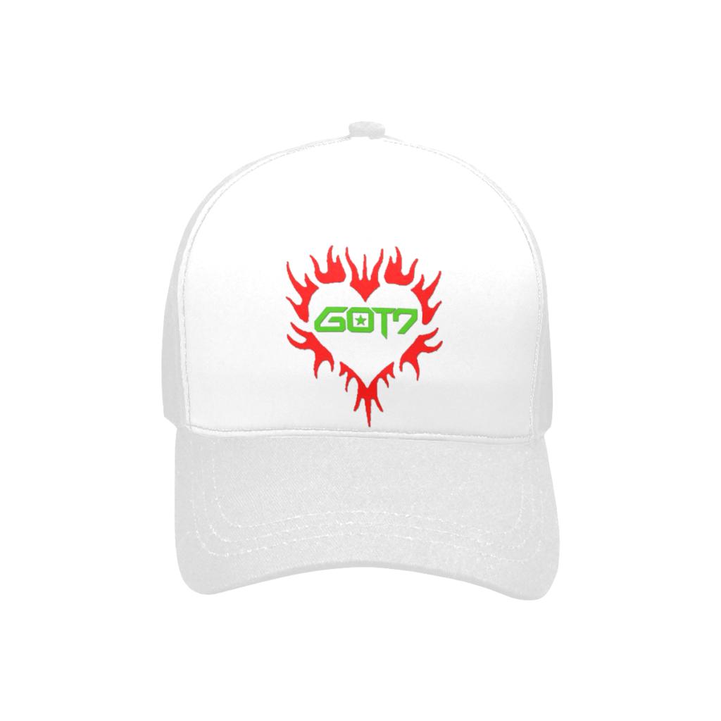 GOT7 Heart Logo Unisex Baseball Cap