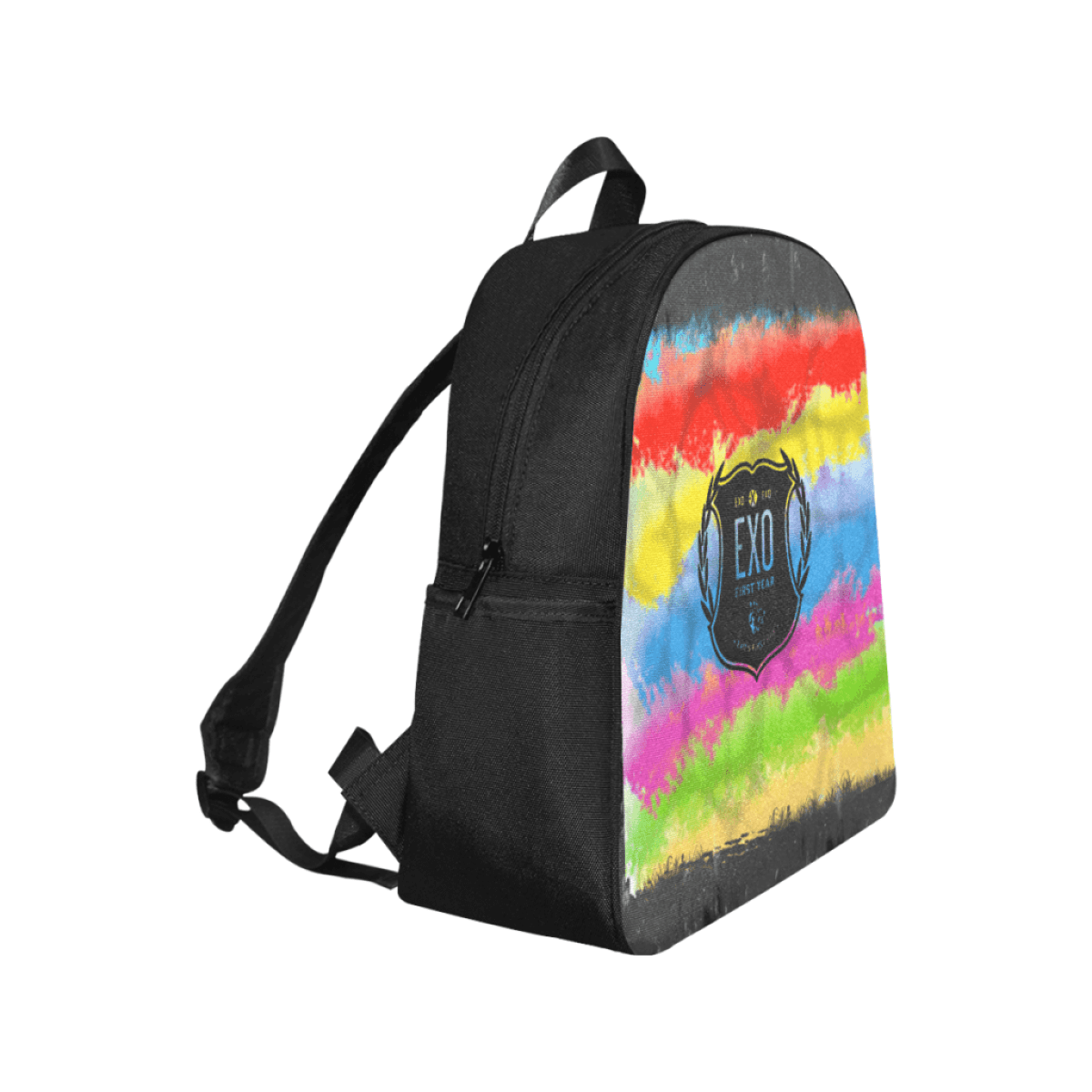 EXO Logo Multi-Pocket School Bag