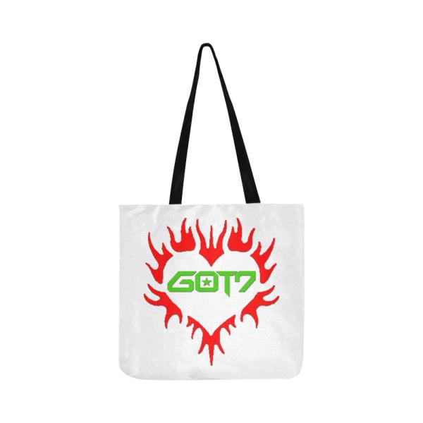 GOT7 Heart Logo Tote Bag