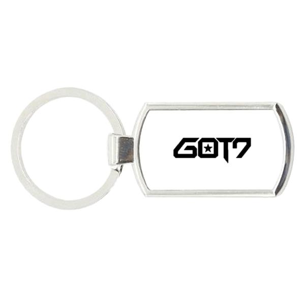 GOT7 Logo Charm Metal Keychain