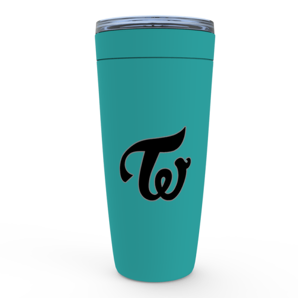 Beautiful Twice Logo Tumbler