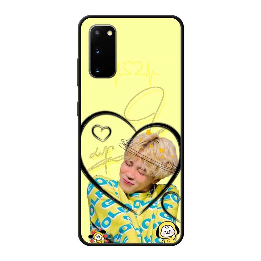 Stylish BTS Jimin Samsung Mobile Cover