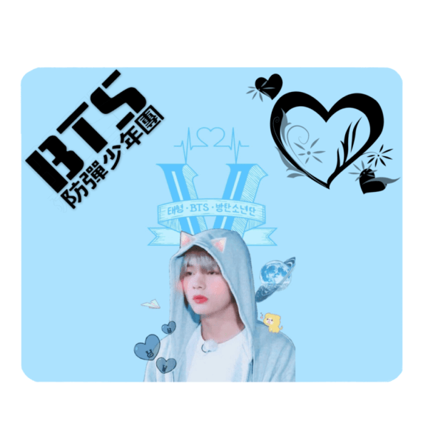 BTS Tae Stylish Mouse Pad