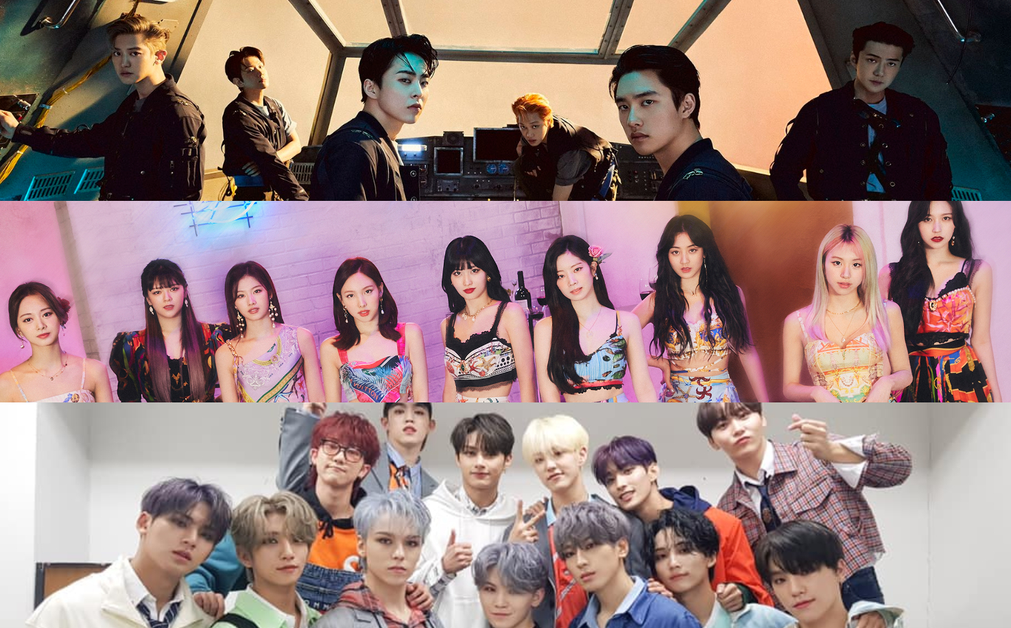 June 2021 K-pop Comebacks: EXO, TWICE, SEVENTEEN, and More Set to Return This Month