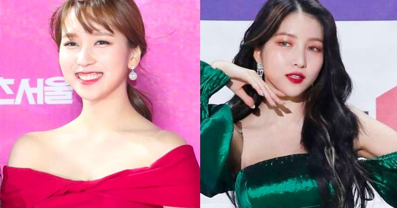 7 Female Idols Who Rock the Off-Shoulder Look, According to Dispatch