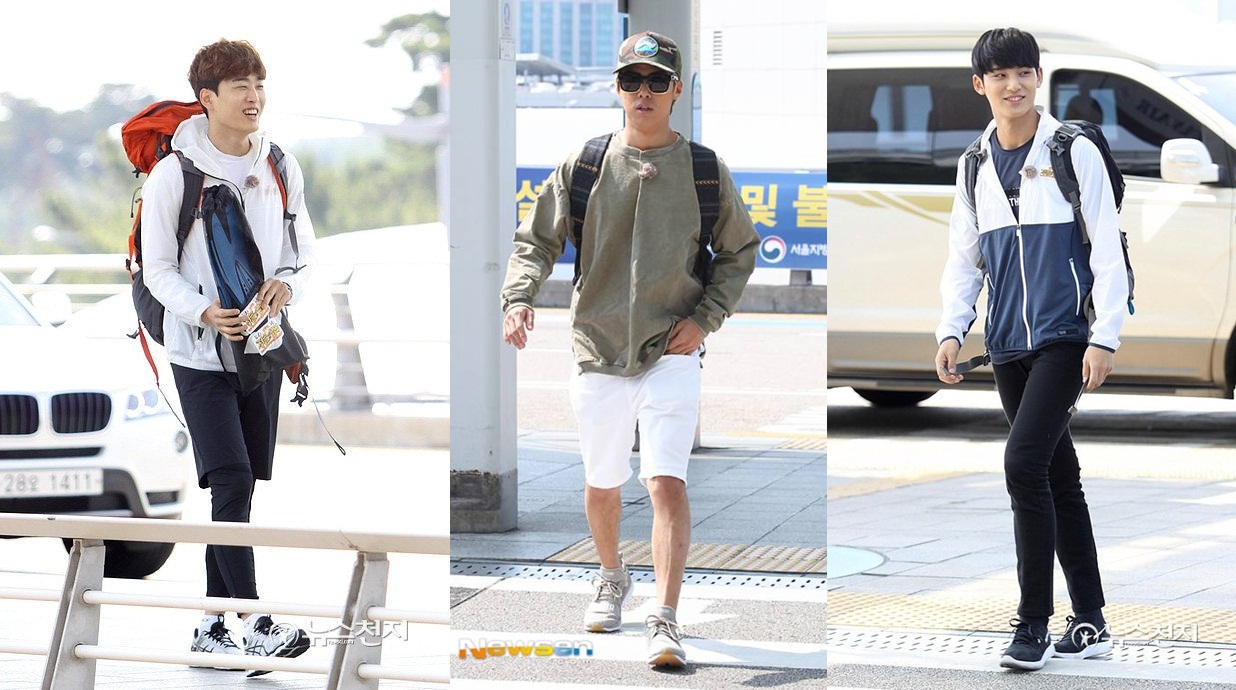Mingyu SEVENTEEN, Kangnam dan Tamu 'Laws of the Jungle' Lain Tiba di Bandara