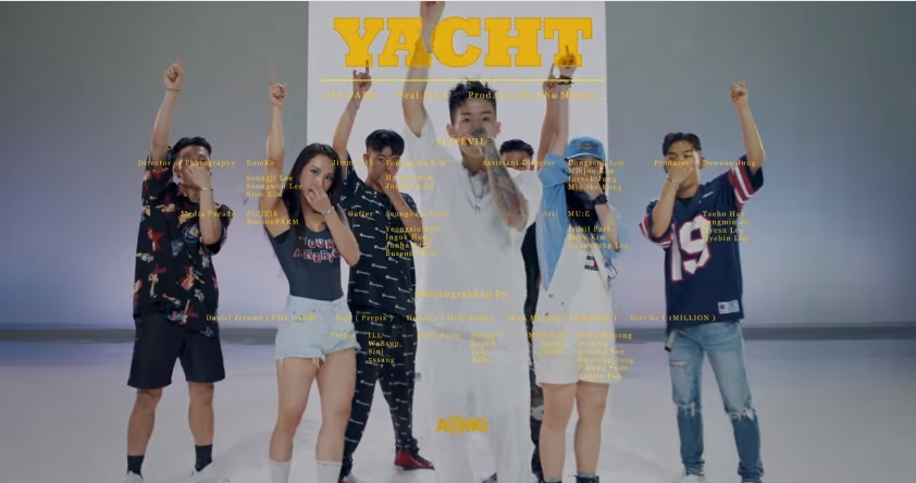 Jay Park Menari Bersama Dancer 1MILLION di MV 'YACHT (k)'