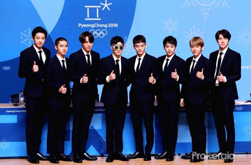 روابط بث أداء فرقة EXO في الألعاب الأولمبية الشتائية 2018