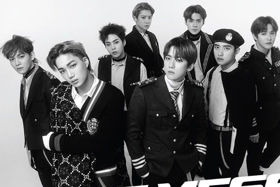 شركة SM تؤكد احتساب مبيعات ألبوم EXO الجديد من أمازون والمخططات العالمية الأخرى