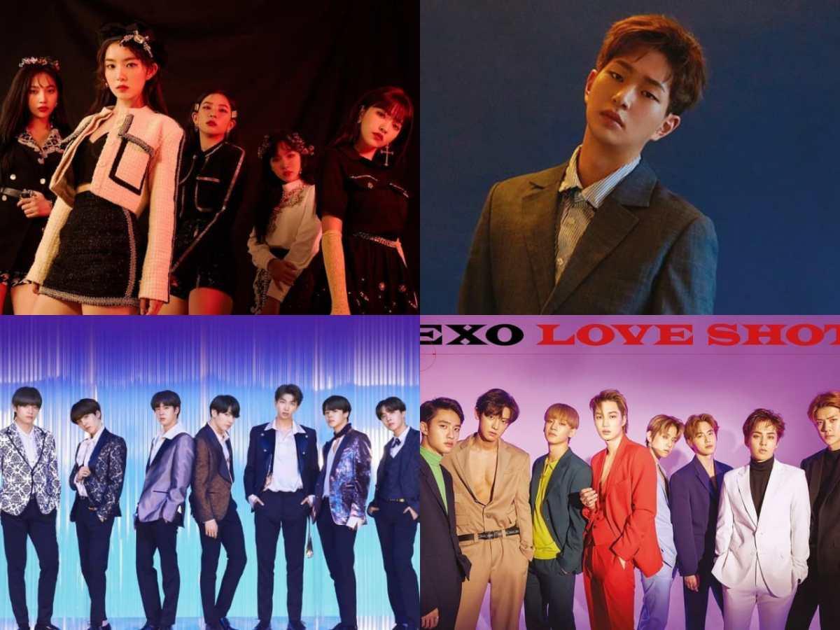Red Velvet وأونيو يدخلون مخطط بيلبورد للألبومات العالمية + BTS، EXO والمزيد يحتلون مراكز مرتفعة