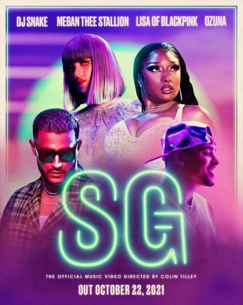 DJ Snake x Megan Thee Stallion x Lisa x Ozuna – SG MV