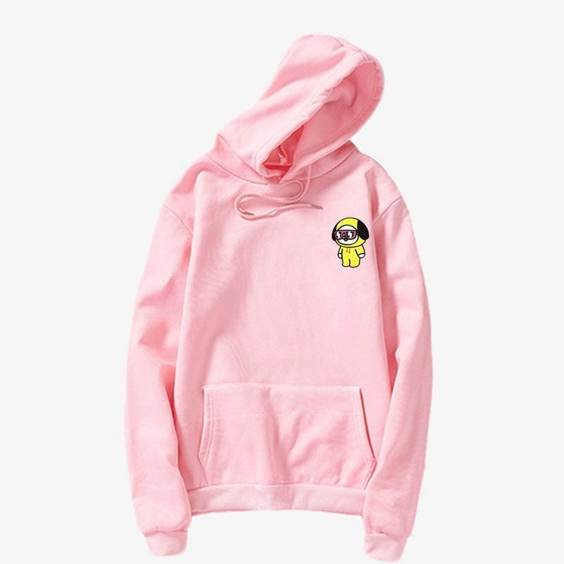 Korea k-pop bangtan Harajuku Hip Hop Funny hoodies Female Hoodie Korean fashion   Harajuku Sudadera Mujer hoody Clothes