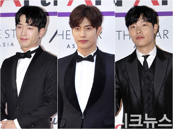 Korean kpop idol guy hairstyles for guys men actors kdrama red carpet hairstyles trends comma hair kpopstuff