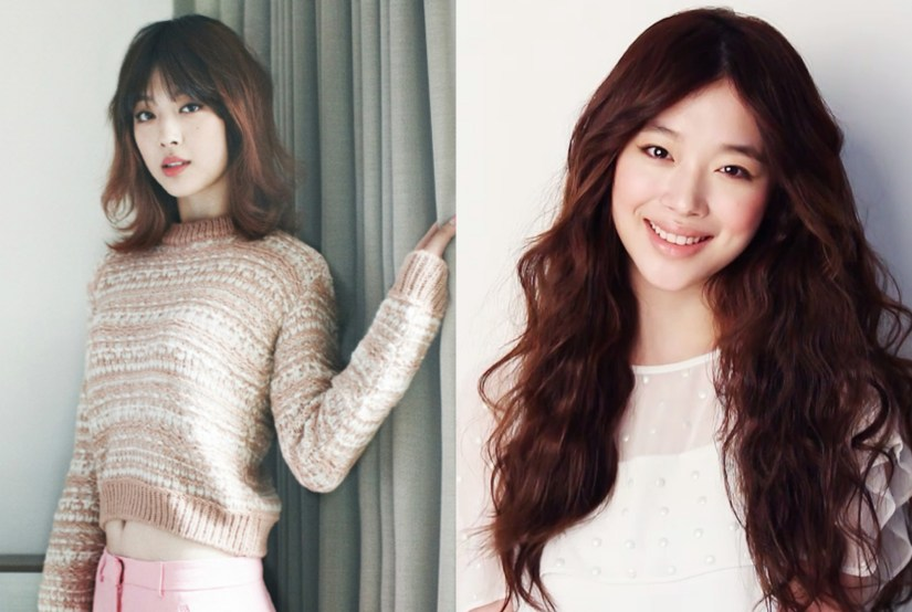 kpop girl group fx sulli kdrama kpop idol haircut transformation short vs long