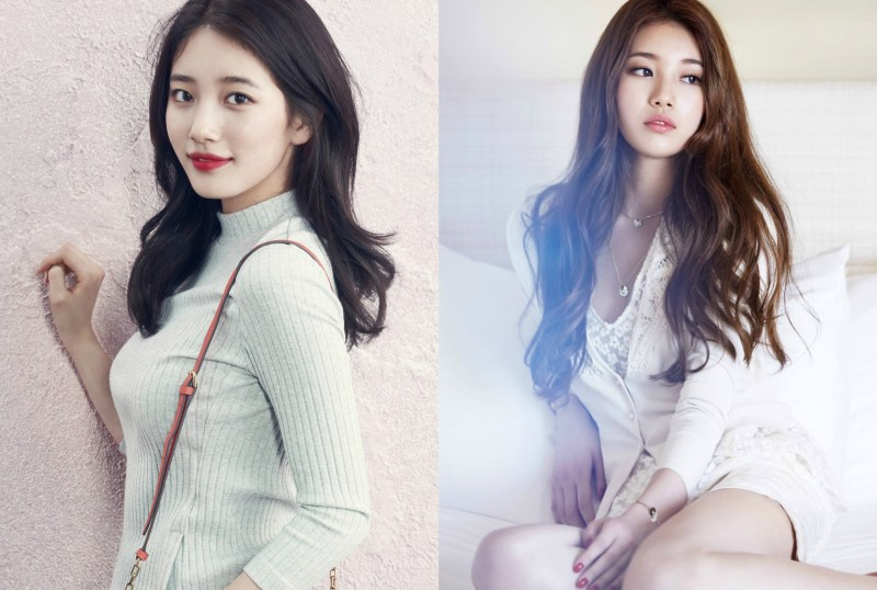 kpop girl group Miss A Suzy short vs long haircut