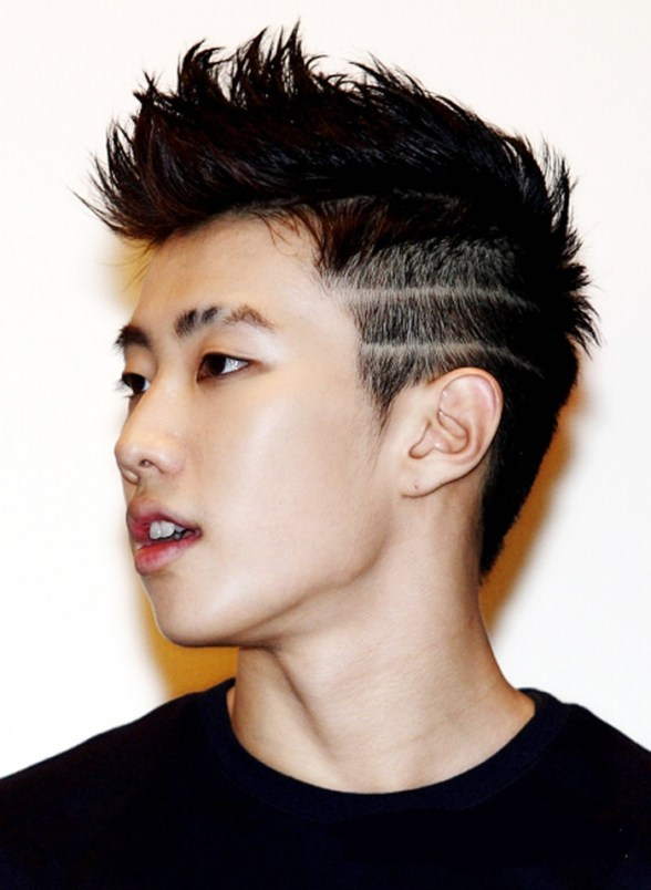 korean kpop rapper jay park short two block haircut for asian korean kpop hairstyles kpopstuff