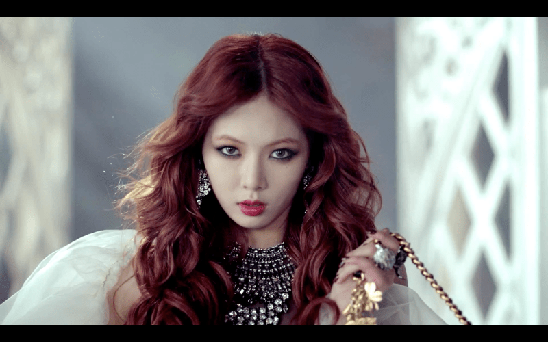 2012 kpop idol Hyuna volume up hair hyuna evolution hairstyles for girls kpopstuff