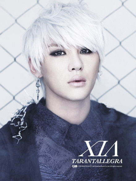 korea korean kpop idol boy band group tvxq jyj xia junsu anime inspired white hairstyle color dyed hairstyles for guys kpopstuff