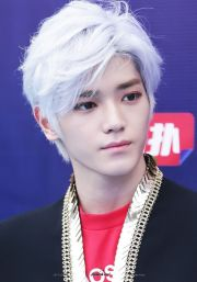 anime-white hairstyles - kpop korean