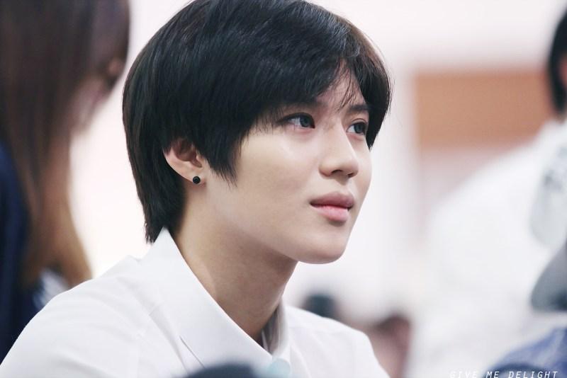 Korean kpop idol boy group band SHINee taemin natural hair color dye hairstyles for guys kpopstuff asian