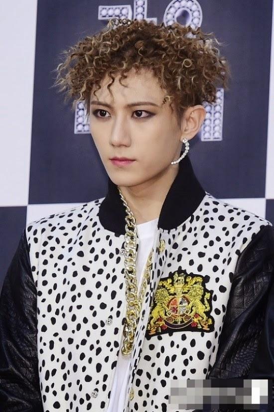 korean kpop idol boy band group b2st beast hyunseung curly hairstyles ramen hair for guys kpopstuff