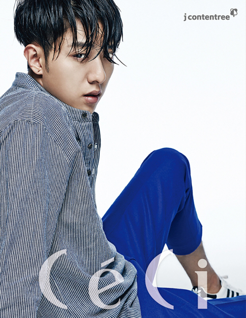 korean kpop idol boy group cnblue jungshin wet hair trend photoshoot hairstyles for guys kpopstuff