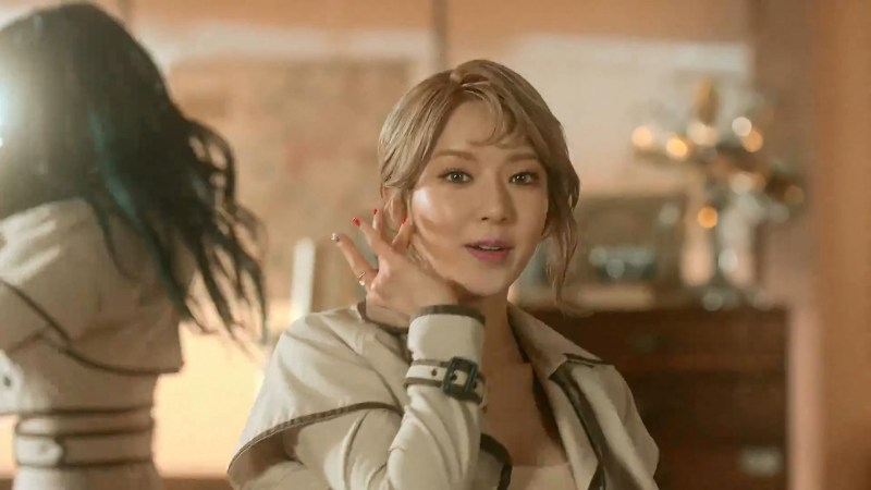 korea korean kpop idol girl group band aoa choa's new lob hair excuse me comma hair trend hairstyle for girls kpopstuff
