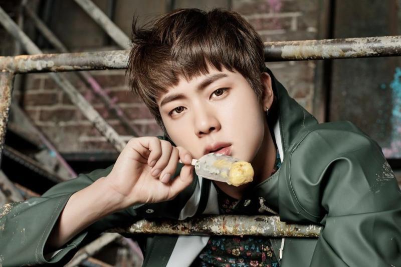 korea korean kpop idol boy band group BTS' new hairstyles you never walk alone hairstyle jin short cut haircut hairstyles for guys kpopstuff