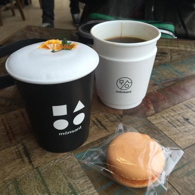 korea korean kpop idol boy band group big bang gdragon's cafe the monsant jeju island korea destinations for kpop fans macaroon coffee drinks kpopstuff