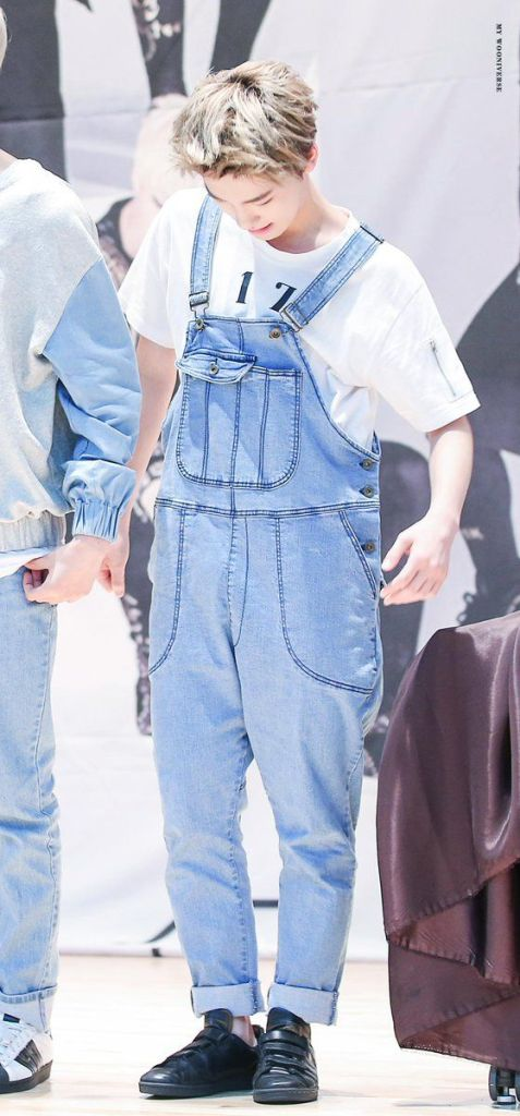 SEVENTEENu0026#39;S SUSPENDERS FASHION - Kpop Korean Hair And Style