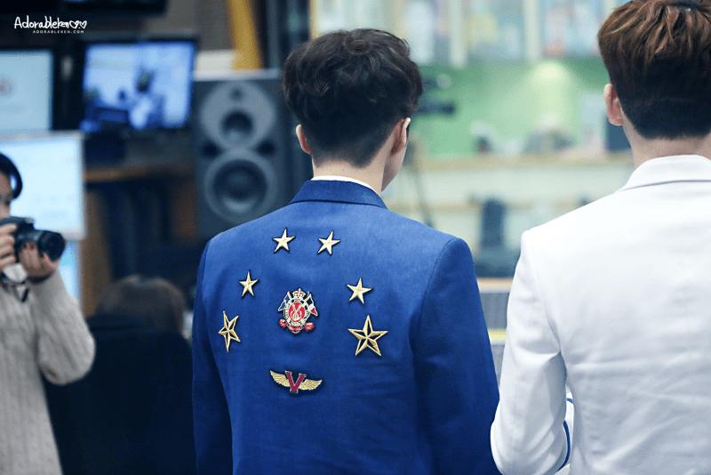 korea korean kpop idol boy band group vixx ken's two block haircut trending haircut wavy curly permed hairstyles for guys kpopstuff back view