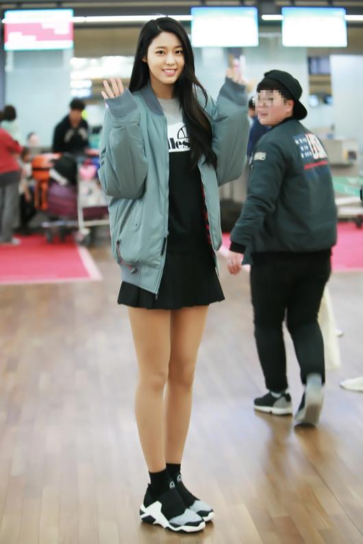 korea korean kpop idol girl band group aoa seolhyun's dress fashion sporty streetwear dresses outfits style for girls kpopstuff