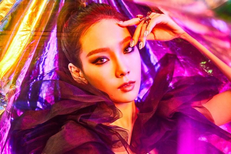 korea korean kpop idol girl band group girl's generation snsd taeyeon's hairstyle for i got love comeback high ponytail hairstyles for girls kpopstuff