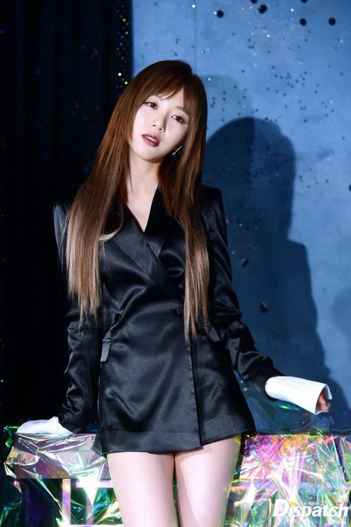 korea korean kpop idol girl group band aoa mina's layered cut bing bing mv haircut for girls kpopstuff