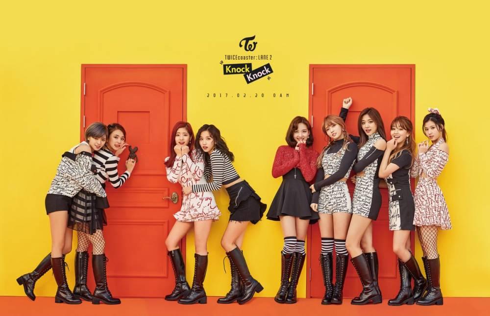 korea korean kpop idol girl group band twice's knock knock fashion cute punk school fashion style outfits for girls kpopstuff main