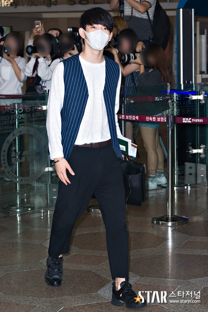 korea korean kpop idol kdrama actor got7 jinyoung's classy fashion dressy pants vest outfit style for guys kpopstuff