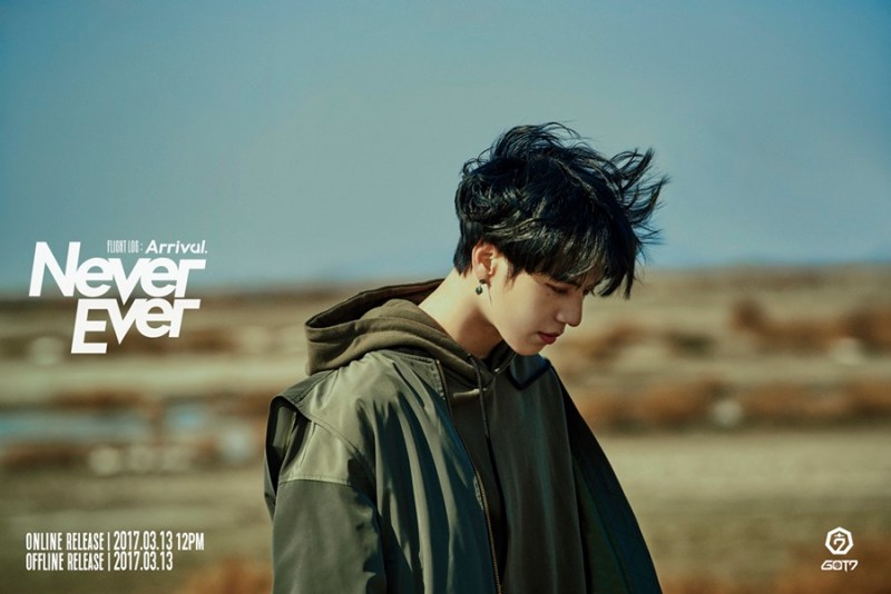 korea korean kpop idol boy band group got7 yugyeom's never ever hair black color dye hairstyles for guys kpopstuff main