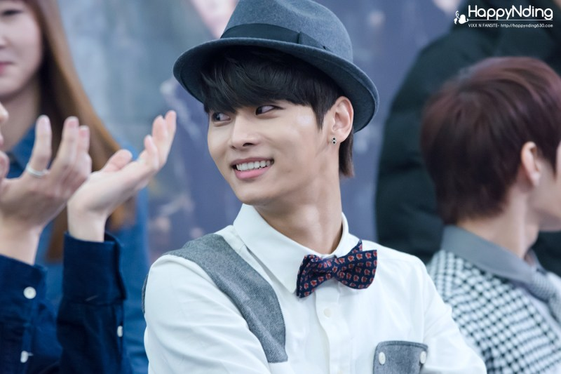 korea korean kpop idol boy band group vixx fedora fashion n bow tie cute outfit looks style for guys kpopstuff